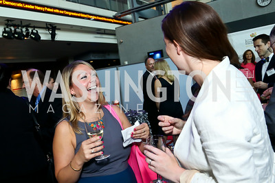 Sarah Lucas, Katie O'Dowd. Photo by Tony Powell. EGPAF 25th Anniversary Celebration. Newseum. June 24, 2014
