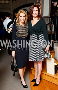 Dana Bash, Ilyse Hogue. Photo by Tony Powell. Elle Women in Washington 2014 Power List. Villa Firenze. March 25, 2014