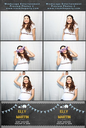 Elly & Martin's Baby Shower - Photo Booth Pictures