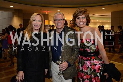 Susan Lehrman, Timothy Cox and Honorary Gala Chairwoman, Capricia Marshall. Embassy Chef Challenge. Ronald Reagan Building. May 15, 2014. Photo by Neshan H. Naltchayan
