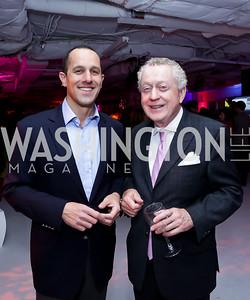 David Grimaldi, Tom Quinn. Photo by Tony Powell. ESA's 20th Anniversary. Warner Building. December 3, 2014