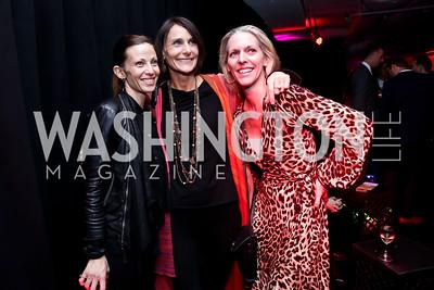Gretta Rivero, Sarah Ingersoll, Jennifer Vinson. Photo by Tony Powell. ESA's 20th Anniversary. Warner Building. December 3, 2014
