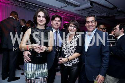 Gala Petrossian, Gerald Harrington, Irina Petrossian, Peter Mirijanian. Photo by Tony Powell. ESA's 20th Anniversary. Warner Building. December 3, 2014