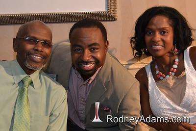 Ernest Thomas (Raj) , Rodney Adams, Danielle Spencer Fields (Dee)