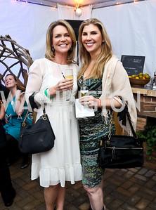 "Joslyn Hills, Alison Shulman. Photo by Tony Powell. EWG EATS ""A Journey Through Food."" Longview Gallery. October 15, 2014"