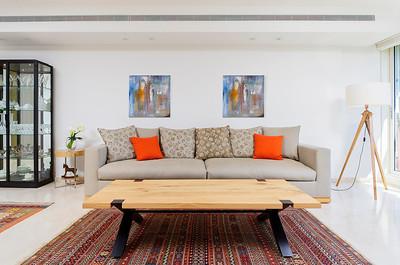 צילום עיצוב פנים: דירה בתל-אביב. צולם עבור ארז לוי (נגר) ומעצבת הפנים דורית גלס