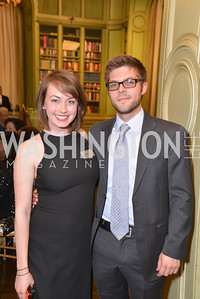 Sarah Lick, Alex McArtney, FOCUS Gala Celebrating DC's Public Charter School Movement, Meridian International Center, March 27, 2014, Photo by Ben Droz