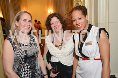 Karen Dresden, Anne Herr, Jami Dunham, FOCUS Gala Celebrating DC's Public Charter School Movement, Meridian International Center, March 27, 2014, Photo by Ben Droz
