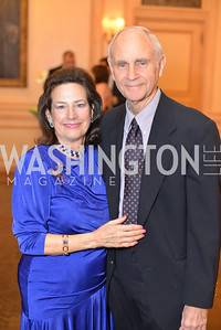 Dr. Sharon Lockwood, David Lockwood, FOCUS Gala Celebrating DC's Public Charter School Movement, Meridian International Center, March 27, 2014, Photo by Ben Droz