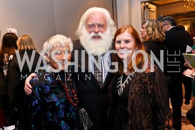 Rosemarie Lintner, Stephen Lintner, Pamela Johnson. Photo by Tony Powell. FRESHFarm Markets Farmland Feast. Ritz Carlton. November 10, 2014
