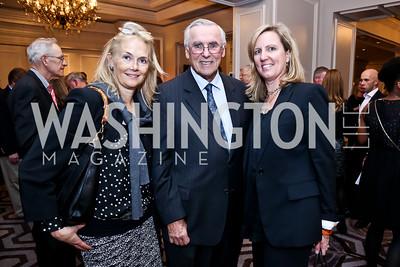 Jennifer Isham, Gus Schumacher, Jodie McLean. Photo by Tony Powell. FRESHFarm Markets Farmland Feast. Ritz Carlton. November 10, 2014