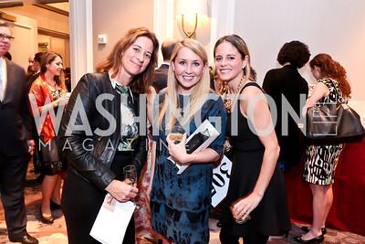 Suzanne Simon, Clare Walsh, Kori Wallace. Photo by Tony Powell. FRESHFarm Markets Farmland Feast. Ritz Carlton. November 10, 2014