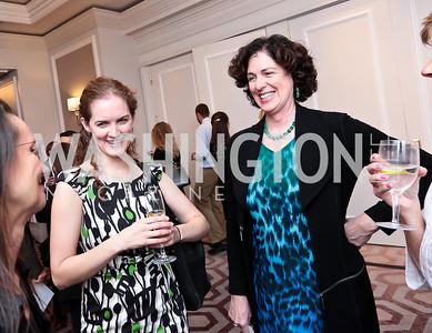 Liz Ducey, Sara Ducey. Photo by Tony Powell. FRESHFarm Markets Farmland Feast. Ritz Carlton. November 10, 2014