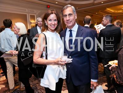 Frederica and George Valanos. Photo by Tony Powell. FRESHFarm Markets Farmland Feast. Ritz Carlton. November 10, 2014