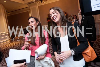Sara Costello, Jacqueline Smith. Photo by Tony Powell. FRESHFarm Markets Farmland Feast. Ritz Carlton. November 10, 2014