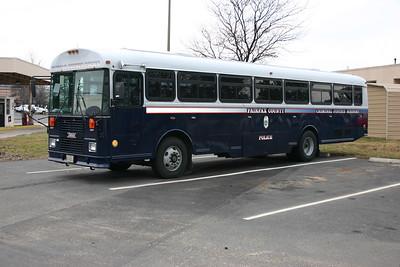 Fairfax Police Academy van.