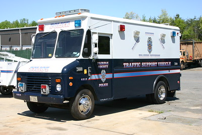 Fairfax County traffic support unit.