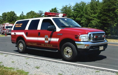 Former Deputy Chief of Operations buggy, a 2004 Ford Excursion/Singer's, Shop #5625.
