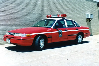 Former Operations 6, a 1994 Ford Crown Victoria, Shop #4697.
