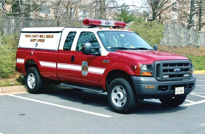 Former Safety Officer, a 2005 Ford F-350/Singer's, Shop #6302.