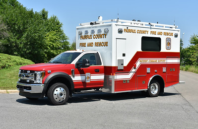 Fairfax County, Virginia's Incident Command Support is this 2018 Ford F550/Frontline C25 model.