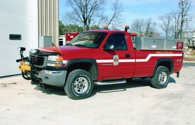 Fairfax County Shops, a 2005 Dodge Ram 2500, Shop #5502.