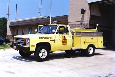 Former Brush 63, a 1987 Chevrolet Custom Deluxe/KME, 250/250.