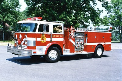 Former Engine 65, a nice 1981 Hahn/Fire Tec, 1000/500.  ex - Arlington Hall Army Base.  To Fort Belvoir in the early 90's.  Retired in 1997.