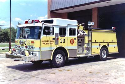 Former Wagon 10, a unique 1983 Duplex/Young Crusader II, 1250/500/40, Shop #V86.  Sold to Walnut Bottom, Pennsylvania, in 1987.