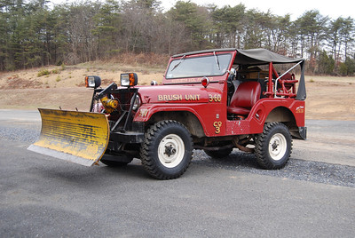 Still owned by Augusta, but out of service is former Brush 3-60, a 1968 Willys Jeep V6, 100 gallon tank.  ex - Great Falls, Virginia (Fairfax County) Jeep 12 (V133).