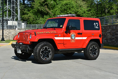 Great Falls, Virginia (Fairfax County) Utility 412B is this 2015 Jeep Wrangler.