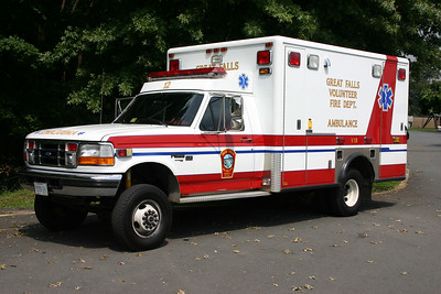 Former Ambulance 412 from Great Falls.