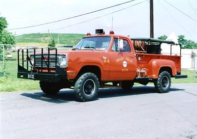 Former Brush 12, a 1972 Dodge Custom Deluxe/FD, 300/200.