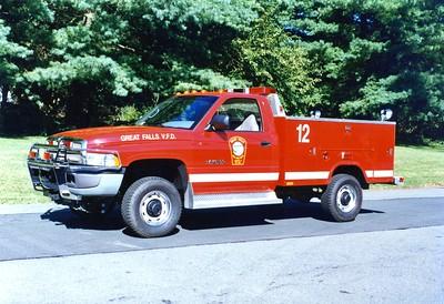 Former Boat Support 12, a 1995 Dodge Ram/Stahl.  Sold to Mount Jackson, Virginia (Shenandoah County).
