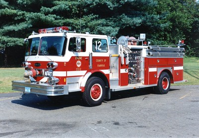 Former Pumper 12, a 1973 Imperial/E-One/1983 Imperial, 1000/500, Shop #4311.