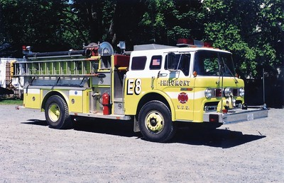 Former Engine 8 from Philomont, a nice 1985 Ford C/E-One, 1000/500, sn- 4112.  ex - Burke VFD (Fairfax County, Virginia).  Sold in 2002 to a fire apparatus dealer.
