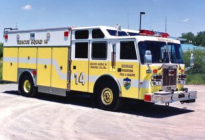 Former Rescue Squad 14, a 1991 Duplex/Saulsbury, 250/250.