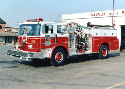 Former Engine 15, a 1982 Duplex/3D Metals, 1000/500, Shop #7096.