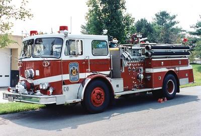 Former Reserve Engine 15, a 1977 Seagrave, 1000/500, Shop #7025.