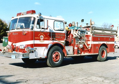Former Engine 15, a 1975 Seagrave, 1000/500, Shop #7006.  Traded into E-One.