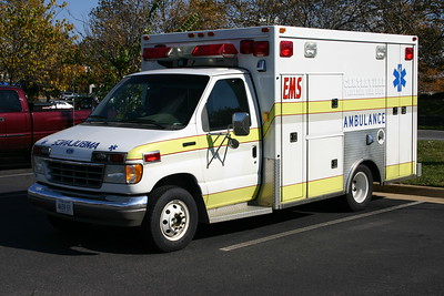 Former Ambulance 17, a 1992 Ford E-350/2006 First Responder, Shop #V091.