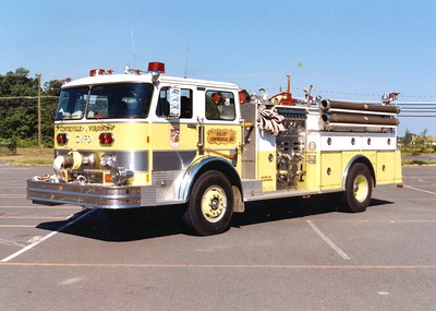 Former Engine 17, a 1982 Hahn, 1250/500.