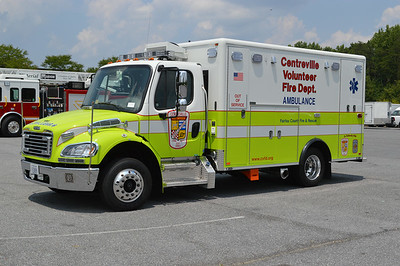 Fairfax County Medic 417 is a 2011 Freightliner M2/Horton.