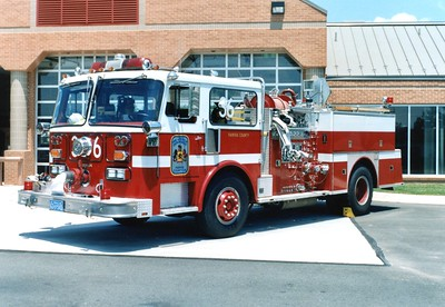 Former Engine 36, a 1980 Seagrave HB, 1000/500, Shop #7054.