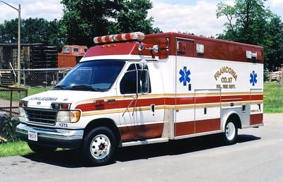 Former Medic 437, a 1995 Ford E-350/PL Custom, Shop #V372.