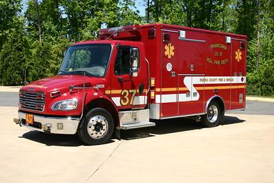 Former Medic 437, a 2004 Freightliner/Medic Master.