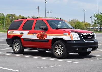 Franconia's Chief 405 is a GMC Yukon.