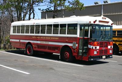 Training Division transport bus.