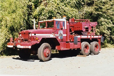 Flexible Response Emergency Device, or FRED.  A 1963 Kaiser 5 ton 6x6, equipped with a 10 ton crane.  Shop #7311.  ex - Fort Belvoir, Virginia and the Delaware National Guard.  Sold in 2003 to Newport News, Virginia.