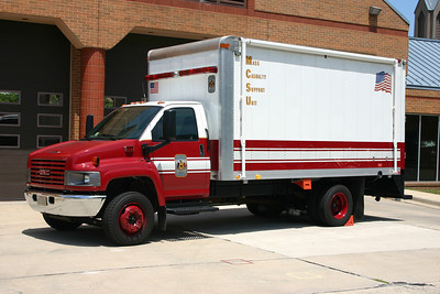 Mass Casualty Support Unit 415 is a 2004 GMC/Mickey Truck Bodies, County #6510.